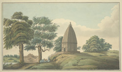 E. view of Mahadeo Temple near Sarnath (U.P.)
